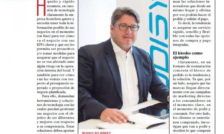 #Codisys, Rodolfo Pérez participa en la Tribuna sobre tecnología de Restauración News