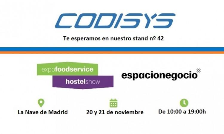 #Codisys, nos vemos en Expo FoodService un año más
